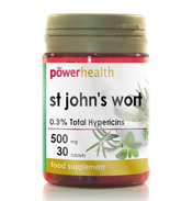 Power Health St John's Wort 500mg 90 Tablets