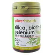 Silica 250mg Biotin & Selenium Capsules