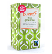 Pukka Three Green Tea 20 Bags (25% EXTRA FREE)