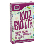 Quest Kidz Biotix 30 Blackcurrant Tablets