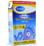 Scholl Freeze Wart & Verruca Treatment 80ml