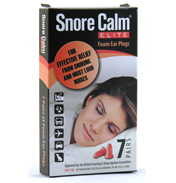 Snore Calm Elite Foam Ear Plugs 7 Pack