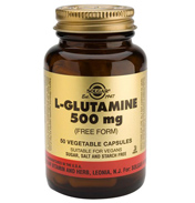 Solgar L Glutamine 500mg 50 Vegicaps