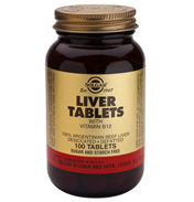 Solgar Liver 713mg 100 tablets