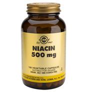 Solgar Niacin 500mg 100 Vegicaps