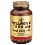 Vitamin C 1500mg with Rose Hips