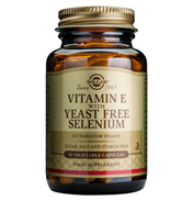 Vitamin E with Yeast Free Selenium