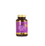 Vega Vitamin D Chewable 1000iu 60 Tablets